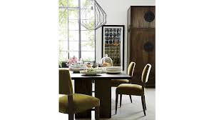 dining tables crate and barrel round dining table crate and barrel dining table dakota csquare