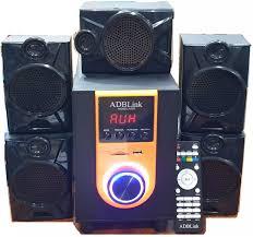 Loa Vi Tính 5.1 ADBLink A502( Bluetooth - FM , Thẻ Nhớ , Usb )