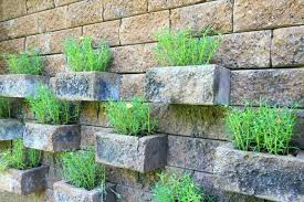 garden ideas with bricks vertical gardens are perfect space savers this garden used carefully spaced brick
