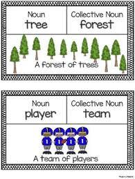 Chart Of Collective Noun Collective Noun Charts Noun Chart Collective Nouns Chart