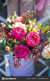 beautiful bouquets flowers market showcase flowers flowers flower stock photo