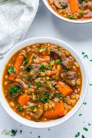 hearty beef barley stew slow cooker
