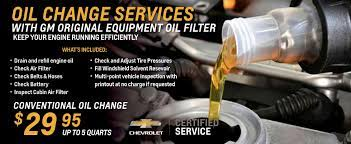 Chevrolet Service Coupons Service And Parts Near Denver