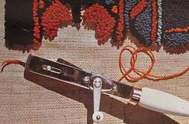 rug tufting tool. danella rug hooking quick demonstration tufting tool