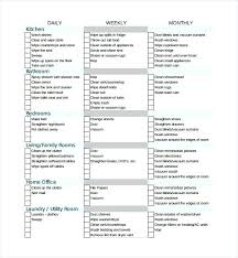 sample house cleaning checklist window business plan