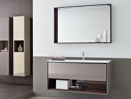 Open Shelf Vanity Bathroom Bathroom Vanity Mirror With Shelf Globorank