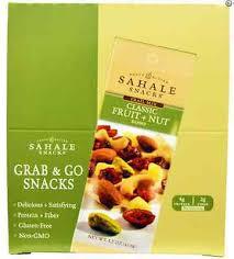 NEW SAHALE SNACKS <b>TRAIL MIX CLASSIC FRUIT</b> + NUT BLEND ...