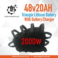 <b>48V</b> 20Ah <b>Triangle</b> Lithium-ion <b>Battery 2000W</b> Motor Electric Bike ...