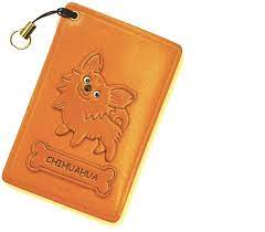 Check spelling or type a new query. Amazon Com Chihuahua Leather Dog Pass Id Credit Card Holder Casevanca Handmade In Japan Office Products