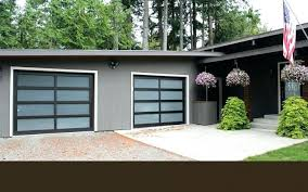 install electric garage door opener door