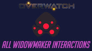 Overwatch All Widowmaker Interactions Unique Kill Quotes