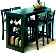 round high top table wood small bar and chair set c