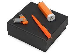 Подарочный <b>набор On-the</b>-go с флешкой, ручкой и зарядным ...