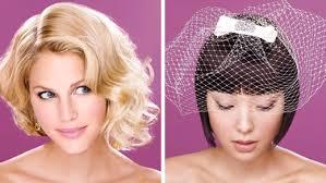 Svatební účesy Pro Krátké Vlasy Svatbacz