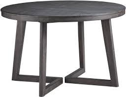 ashley furniture besteneer round dining table in dark grey