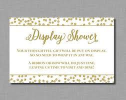 Display Shower  EtsyDisplay Baby Shower Wording