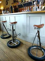 weird bar stoolunusual bar stools bike bar stools handmade and reclaimed  from old vintage bicycle parts
