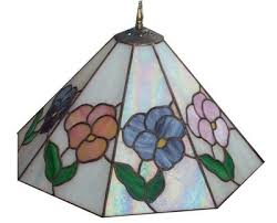 make a beautiful stained glass lampshade