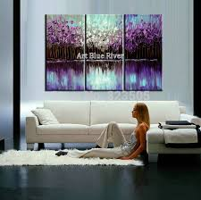 3 piece abstract canvas art painting triptych home goods wall art canvas painting purple knife paintings on 3 piece abstract canvas wall art with 3 piece abstract canvas art painting triptych home goods wall art
