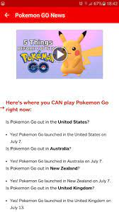 News: Pokemon GO for Android - APK Download