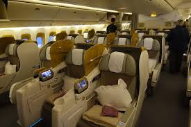 emirates 777 300er business review i