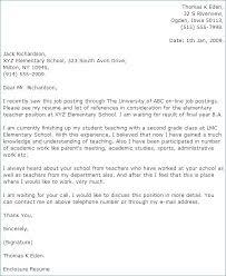 Cover Letter For Esl Teacher Adjunct Professor Cover Letter Format
