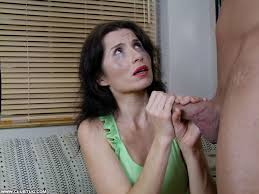Milf give handjob forced