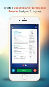 Resume App Simple Resume CV Builder Designer For Your Job Search On The App Store