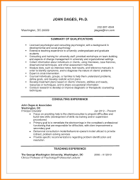 Resume Examples For Psychology Majors 60 psychologist resume the stuffedolive restaurant 10