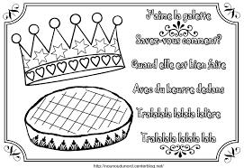 Coloriage De La Galette Des Rois L L L L L L L L