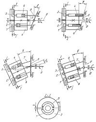 Реферат Аксиальные роторно поршневые насосы и гидромоторы  Рис 1 Принципиальные схемы аксиально поршневых насосов