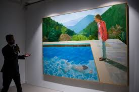 un tableau six questions sur la vente record dun tableau de david hockney l