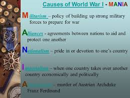 causes and effects of world war i causes of world war icauses of  causes and effects of world war i 2 causes
