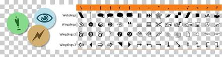 Computer Keyboard Wingdings Webdings Character Map Font