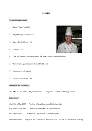 100 Chef Skills Resume Sous Chef Resume Is One Of The Best