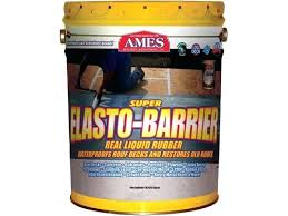 ames blue max. Ames Liquid Rubber Super Barrier Blue Max Basement Paint P