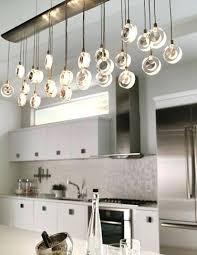 Kitchen Island Lighting Fixtures Kitchen Lighting Idea The Elongated