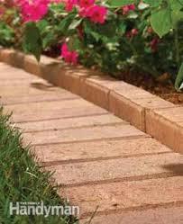 garden edging stone. A Paver Garden Border: Edging Stones Stone