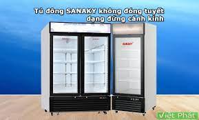Tủ đông Sanaky không đóng tuyết - review by Việt Phát
