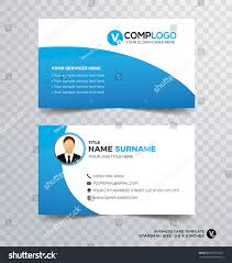 Clean Modern Design Template Resume Cv Stock Vector Royalty Free