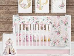 baby girl crib bedding fl crib