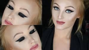 dramatic cat eye hooded eyes makeup tutorial