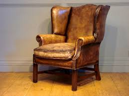 Leather Wingback Chair For Sale Bedroom Knockout Modest Maven Vintage Blossom Wingback Chair
