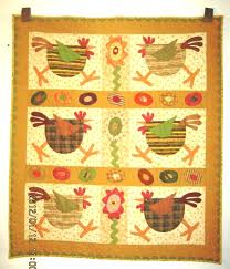 Pieced Brain: Chicken quilts & Its name is Spring Chickens (pattern MQ #195 by Meme's Quilts). This time,  I modified it just a bit, using the same fabric for sashing and border, ... Adamdwight.com