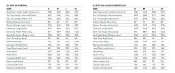 Specialized Frame Size Chart 2018 Foxytoon Co