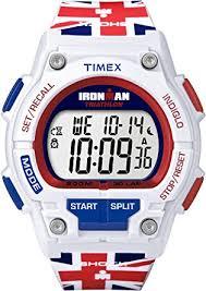 timex ironman men s quartz watch lcd dial digital display and timex ironman men s quartz watch lcd dial digital display and multicolour resin strap t5k586su