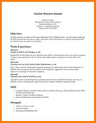 Grocery Store Clerk Resume Document Processor Sample Resume