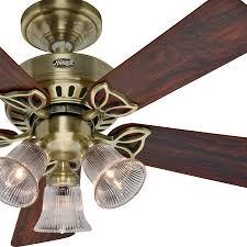 hunter brass ceiling fans. Interesting Fans Elegant Hunter Ceiling Fan Brass Product In Fans