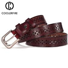 <b>COOLERFIRE</b> New Sale High Quality Luxury Belt <b>Genuine</b> Leather ...