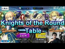 knights of the round table hatcher fate grand order